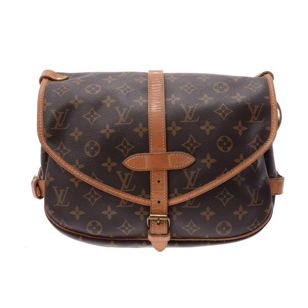 Louis Vuitton Monogram Saumur M42256 Women's Shoulder Bag Monogram