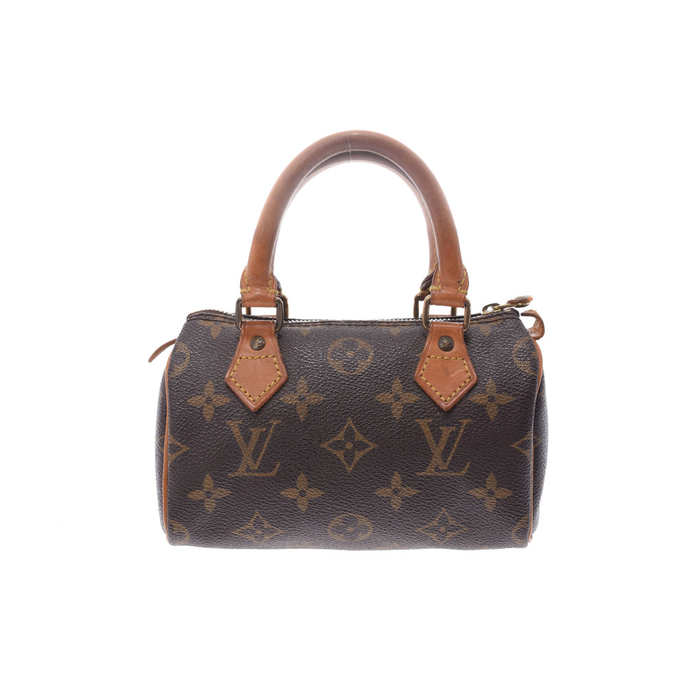 Louis Vuitton Monogram Mini Speedy M41534 Women's Handbag Monogram