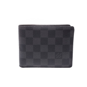 ルイ・ヴィトン(Louis Vuitton) ダミエ・グラフィット N63074 ダミエグラフィット 財布(二つ折り) ダミエ・グラフィット