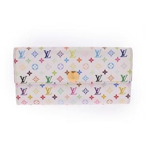 Louis Vuitton Monogram Multicolore M93532  Wallet White