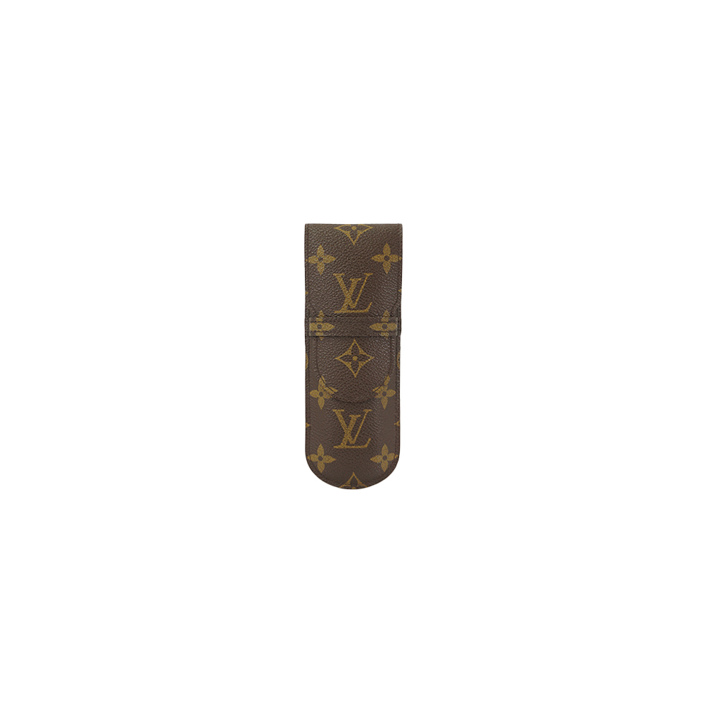 Auth Louis Vuitton Pen Case Monogram Etui Stylos M62990