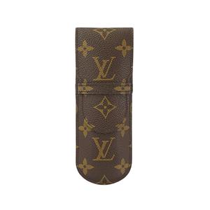 Auth Louis Vuitton Pen Case Monogram Etui Stylos M62990