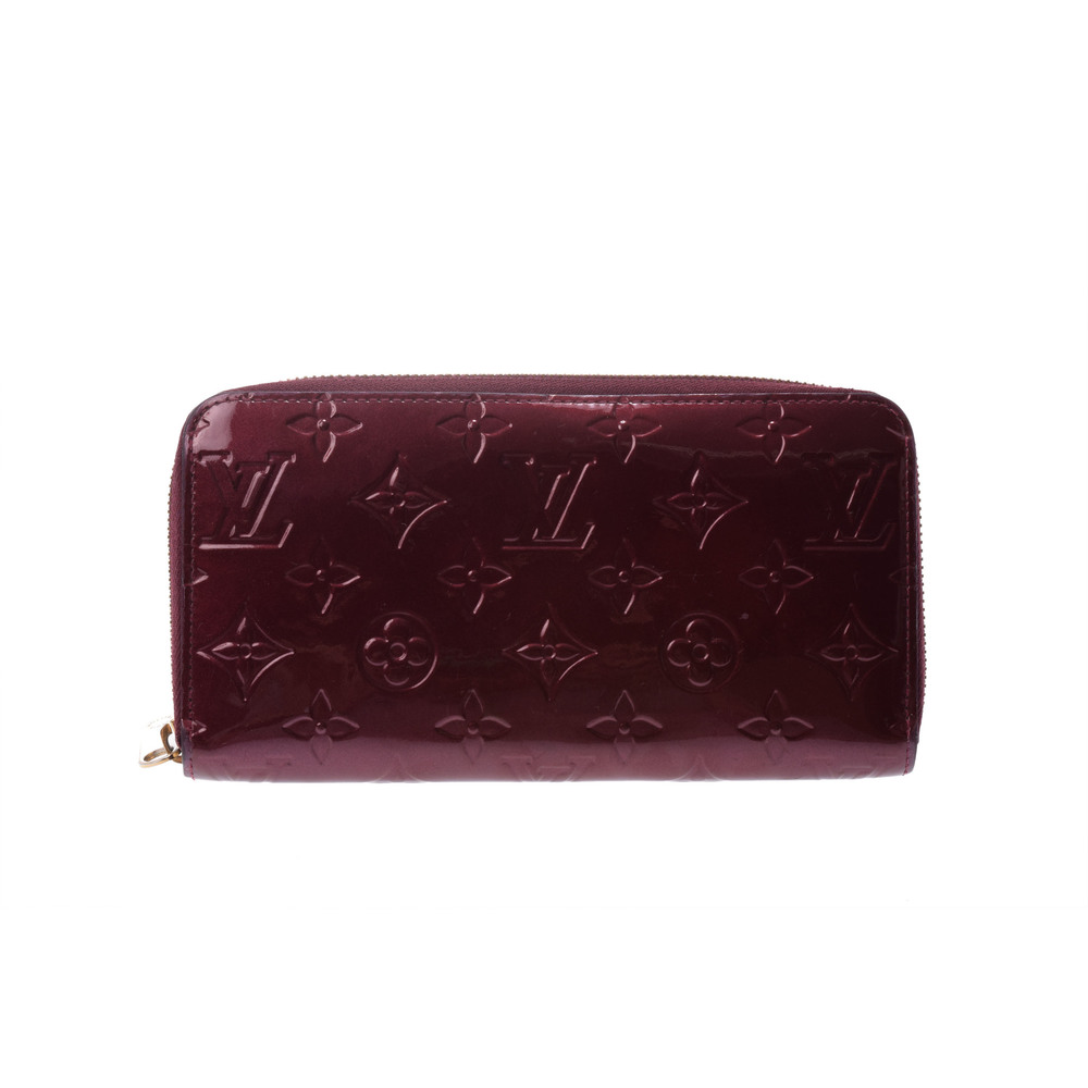 ルイ・ヴィトン(Louis Vuitton) ヴェルニ M91536 レディース  財布 ルージュフォーヴィスト