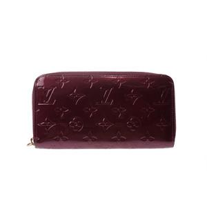 Louis Vuitton Vernis M91536 Women's  Wallet Rouge Fauviste