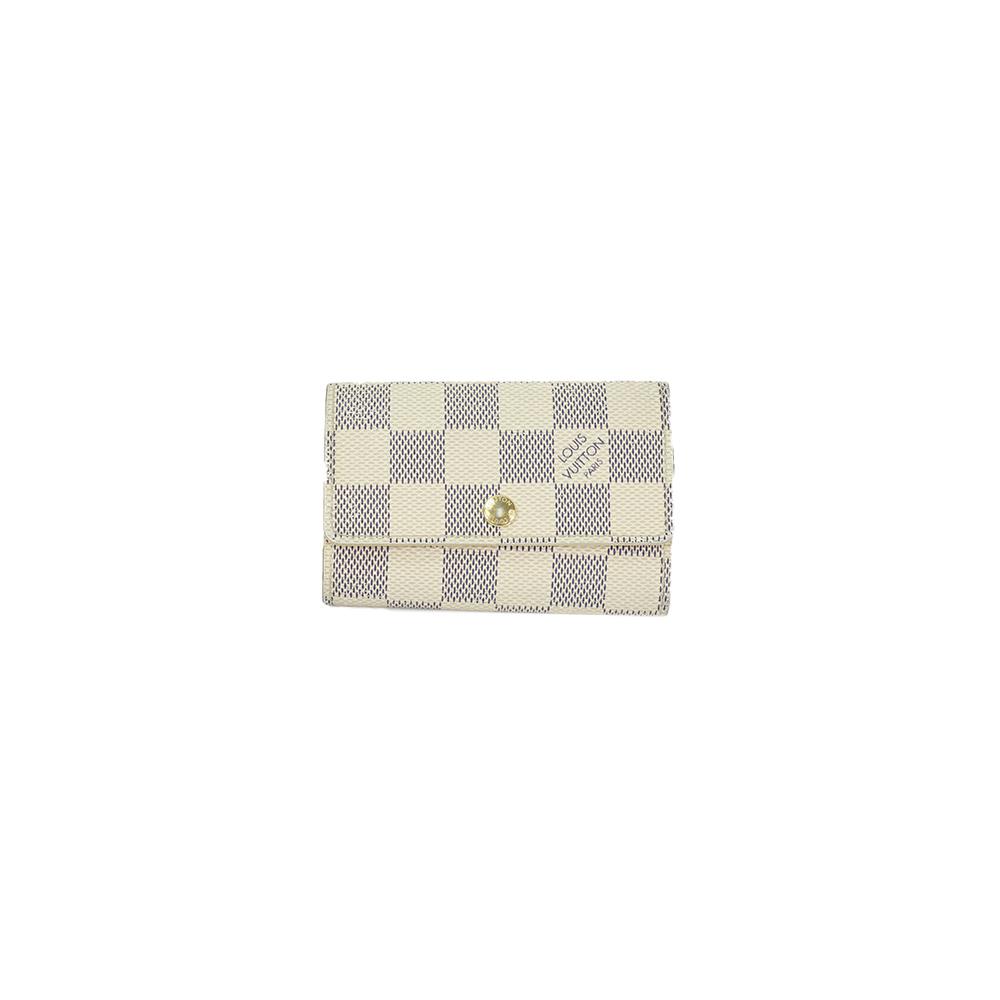 Auth Louis Vuitton Damier Azur Multicles 6 N61745