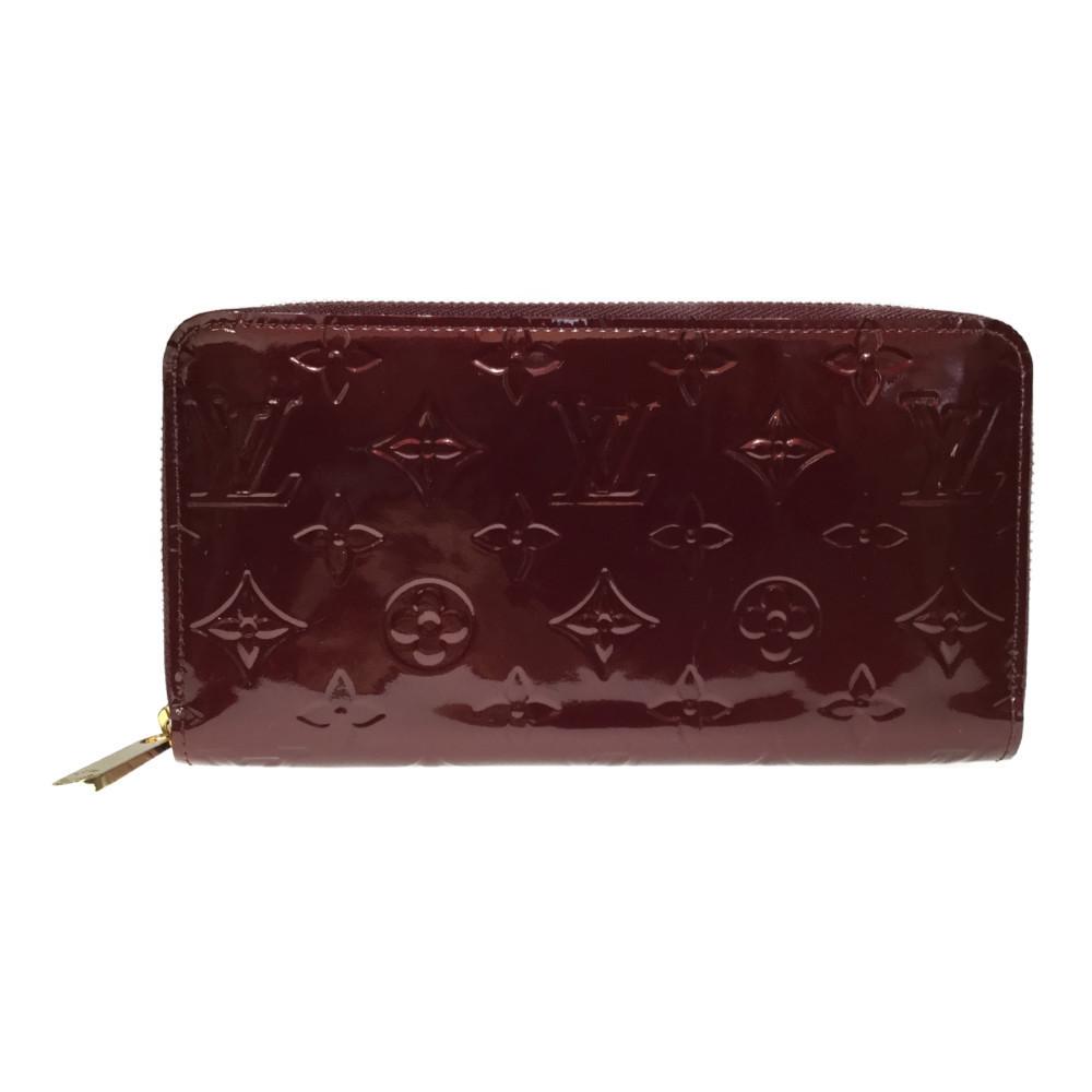 ルイ・ヴィトン(Louis Vuitton) ジッピー・ウォレット M91536 モノグラムヴェルニ 長財布(二つ折り) ルージュフォーヴィスト