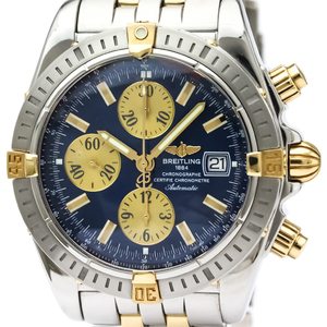 Breitling Chronomat Automatic Stainless Steel,Yellow Gold (18K) Men's Sports Watch B13356