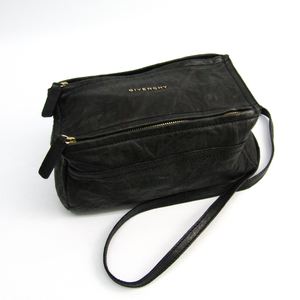 Givenchy Pandora Mini 5253004 Women's Leather Shoulder Bag Black