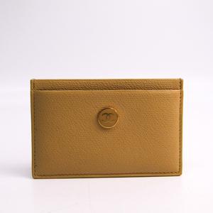 シャネル(Chanel) ココボタン レザー カードケース ベージュ