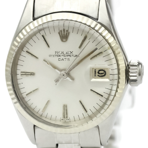 Rolex Automatic White Gold,Stainless Steel Women's Dress Watch 6517