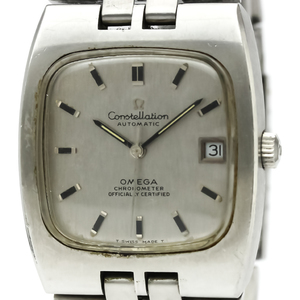 Omega Constellation Automatic Stainless Steel Men's Dress Watch