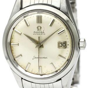 【OMEGA】オメガ シーマスター デイト ステンレススチール 自動巻き メンズ 時計 14744
