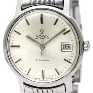 OMEGA Geneve Date Steel Automatic Mens Watch 166.070