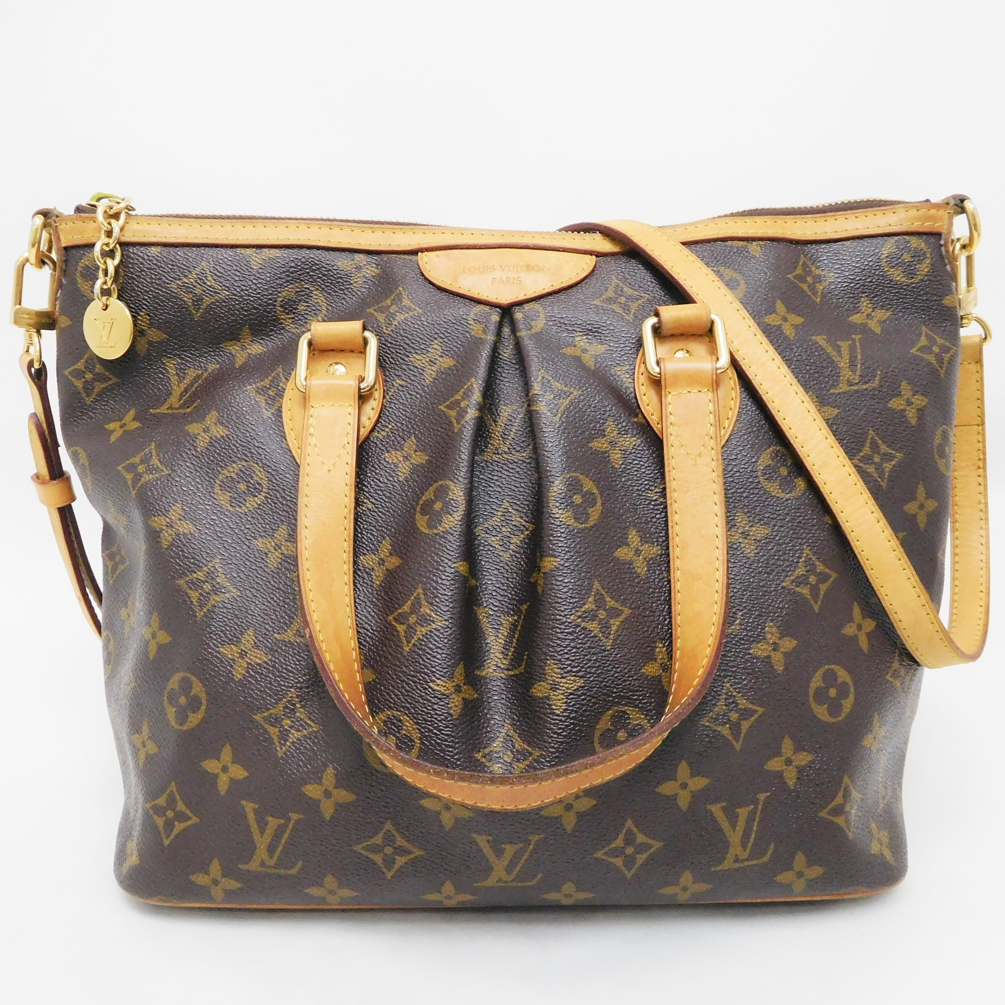 Auth Louis Vuitton Monogram Palermo PM M40145 Women s Shoulder Bag ... 34c22a331e327