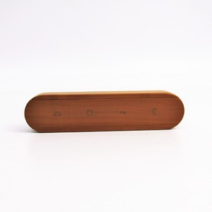Hermes Wood Accessory Natural Pill Case 4