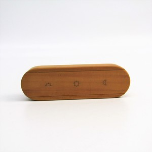 Hermes Wood Accessory Natural Pill Case 3