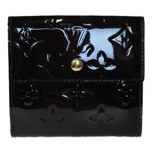ルイ・ヴィトン(Louis Vuitton) モノグラムヴェルニ M93523 ポルトモネ ビエ カルトクレディ 財布(二つ折り) アマラント