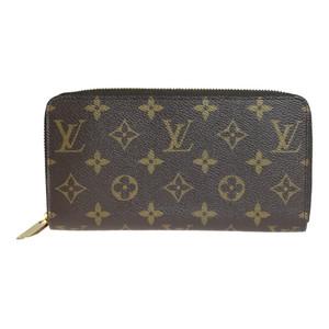 【中古】 ルイ・ヴィトン(Louis Vuitton) モノグラム M60017 ジッピー ウォレット 長財布(二つ折り)