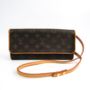 Louis Vuitton Monogram Pochette Twin GM M51852 Women's Shoulder Bag Monogram