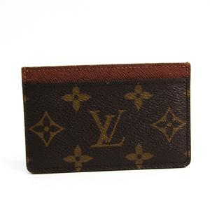 Louis Vuitton Monogram Simple Card Case M61733 Monogram Card Case Monogram