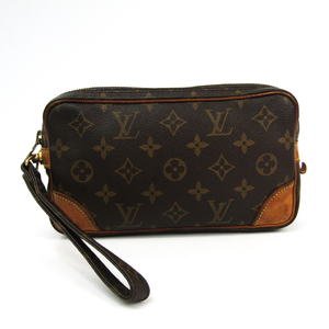 Louis Vuitton Monogram Marly Dragonne PM M51827 Women's Clutch Bag Monogram