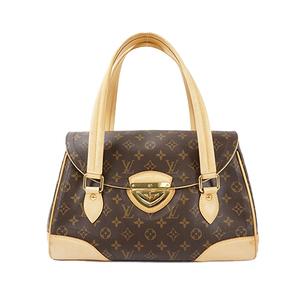 Auth Louis Vuitton Monogram Beverly GM M40120