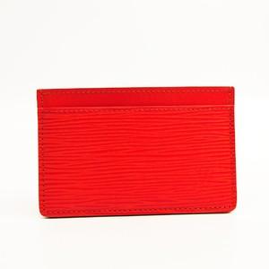 Louis Vuitton Epi Epi Leather Card Case Pimont M60333 Simple Card Case