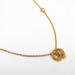 Louis Vuitton Lv-angel-necklace M64291 Metal Women's Pendant Necklace (Gold)