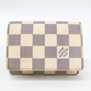 Louis Vuitton Damier Azur Damier Azur Business Card Case Damier Azur Enveloppe cartes de visite N61746