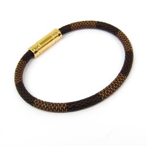 Louis Vuitton Damier Keep It Bracelet M6139E Bracelet Ebene