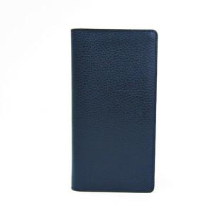Louis Vuitton Brazza-wallet M58818 Men's  Taurillon Leather Long Wallet (bi-fold) Navy