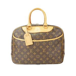 Auth Louis Vuitton Boston Bag Monogram Deauville M47270