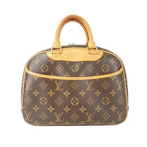 Auth Louis Vuitton Handbag Monogram Trouville M42228