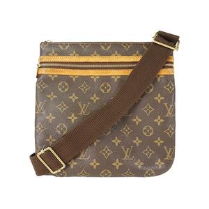 Auth Louis Vuitton Shoulder Bag Monogram Pochette Bosphore M40044