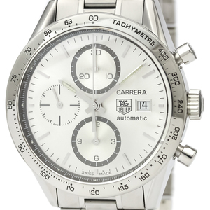 TAG HEUER Carrera Calibre 16 Chronograph Steel Watch CV2017
