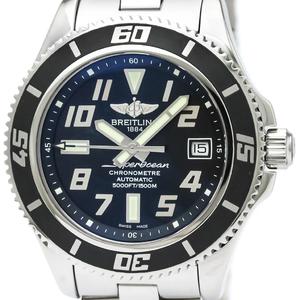 【BREITLING】ブライトリング スーパーオーシャン 42 ステンレススチール 自動巻き メンズ 時計 A17364