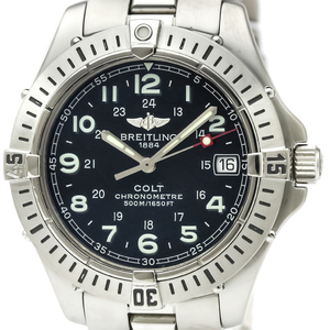 Breitling Colt Quartz Stainless Steel Men's Sports Watch A74350