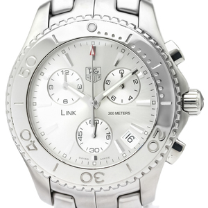 Tag Heuer Link Quartz Stainless Steel Men's Sports Watch CJ1111