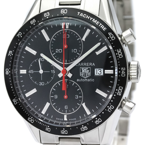 TAG HEUER Carrera Chronograph Steel Automatic Mens Watch CV2014