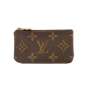 Auth Louis Vuitton Coin Purse Monogram Pochette Cles M62650