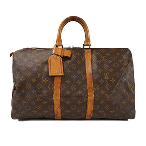 Auth Louis Vuitton Boston bag Monogram Keepall 45 M41428