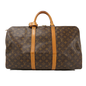 Auth Louis Vuitton Boston Bag Monogram Keepall50 M41426