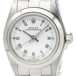 ROLEX Oyster Perpetual 76080 Automatic Ladies Watch