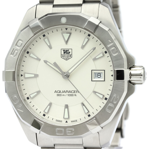 Tag Heuer Aquaracer Quartz Stainless Steel Men's Sports Watch WAY1111