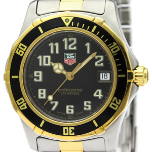 Tag Heuer 2000 Series Quartz Gold Plated,Stainless Steel Men's Sports Watch WM1220