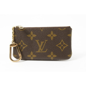 Louis Vuitton Monogram M62650 Key Pouch Monogram Coin Purse/coin Case Monogram