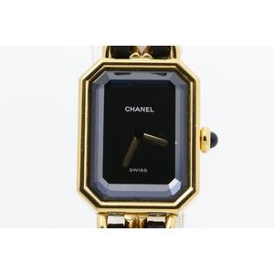 シャネル(Chanel) プルミエール M クォーツ ゴールドプレーティング レディース ドレスウォッチ H0001