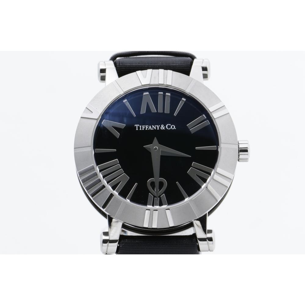 best cheap 651e1 f39b1 ティファニー(Tiffany) アトラス レディース 腕時計 Z1300.11.11A 黒 サテンベルト | elady.com