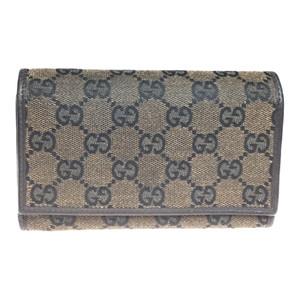 グッチ(Gucci) GGキャンバス 263114 財布(三つ折り) ブラウン