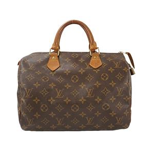 Auth Louis Vuitton  Boston Bag Monogram Speedy30 M41108